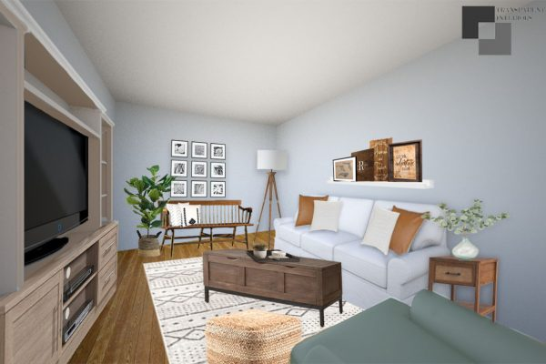 living room design board 2